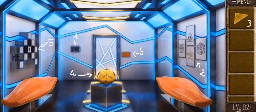 Can you escape the 100 room 12 niveau 2